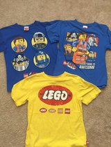 LEGO shirts (size small) in Bolingbrook, Illinois