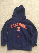 Adidas Kid's University of Illinois Hoodie(size 8) in Bolingbrook, Illinois