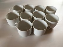 Set of 10 porcelain cups in Ramstein, Germany