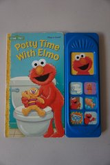 Potty Time With Elmo (Play a Sound) Board Book in Batavia, Illinois