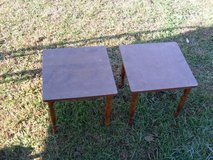two small end tables in Fort Knox, Kentucky
