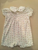 Savannah Baby Romper...size 9 months in Shorewood, Illinois