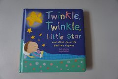 Twinkle, Twinkle, Little Star and other favorite bedtime rhymes Board Book in Joliet, Illinois