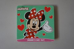 Disney Minnie's Day Out Board Book in Joliet, Illinois