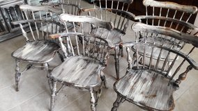 6 Ethan Allen Rustic Chairs in Baytown, Texas