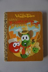 Veggie Tales The Ballad of Little Joe Board Book in Joliet, Illinois