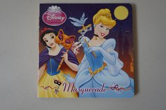 Disney Princess Masquerade Board Book in Joliet, Illinois
