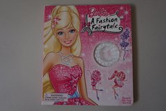 Barbie A Fashion Fairytale Board Book in Joliet, Illinois