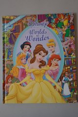 Disney Princess Worlds of Wonder Look and Find Hardcover Book in Joliet, Illinois
