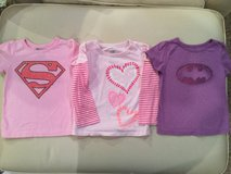 Old Navy superhero shirts...size 18-24 months in Shorewood, Illinois