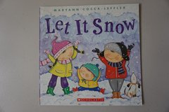 Let It Snow Paperback Book in Lockport, Illinois