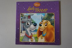 Disney Lady and the Tramp Paperback Book in Joliet, Illinois
