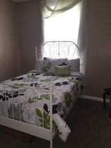 Full size bed with mattress and boxspring in Fort Campbell, Kentucky