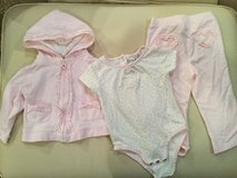 Pink heart outfit...size 18 months in Chicago, Illinois