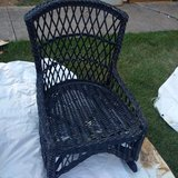 Low wicker chair in Fort Campbell, Kentucky