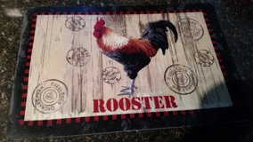 Rooster placemats in Oceanside, California