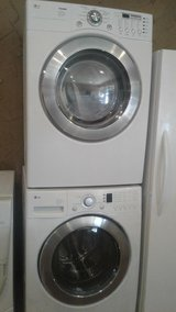LG front load washer and dryer in Houston, Texas