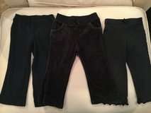 Girls black pants...size 24 months in Shorewood, Illinois