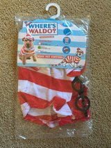 Where's Waldo costume for dog (Sz Med) in Travis AFB, California
