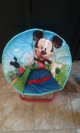 mickey mouse chair in Yorkville, Illinois