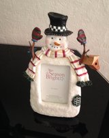 Snowman Picture Frame in Plainfield, Illinois