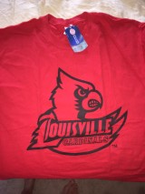 T-Shirts (2) Louisville Cardinals - BRAND NEW in Cleveland, Ohio