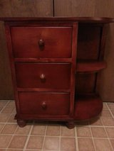 3 drawer cabinet with side shelves in Naperville, Illinois