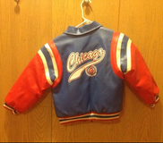 Kids Cubs Nike Leather Coat in Naperville, Illinois