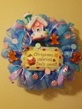 Christmas Candy Wreath in San Antonio, Texas