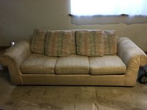 8' Couch need gone ASAP!!! in Travis AFB, California