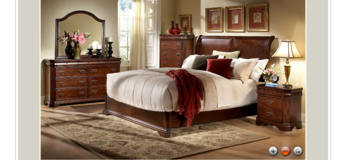 Low Profile King Bed Group- On Sale in Savannah, Georgia