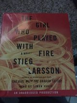 The Girl Who Played with Fire CD Audiobook Larsson in Glendale Heights, Illinois