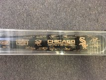 2005 White Sox World Series Bat 170 of 2005 made and plaques in Bartlett, Illinois