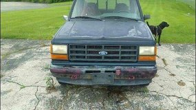 1992 Ford Ranger. With camper shell  3.0 automatic,ps,pb,many new parts,just installed a transmi... in Belleville, Illinois
