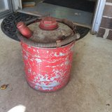 Old Metal Gas Can in Brookfield, Wisconsin