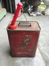 Old 1 Gallon Metal Gas Can in Brookfield, Wisconsin