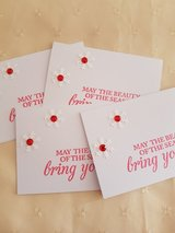 SALE - 9 Small Christmas Gift Cards With Envelopes  Handmade 2.5 x 3.5 inches in Ramstein, Germany