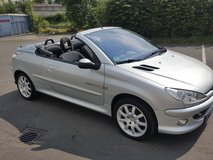 Reduceed! Peugeot 206 CC Convertible Hard Top in Ansbach, Germany
