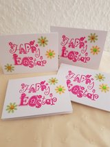 7 Easter Gift Cards  With Envelopes Handmade 2.5 x 3.5 in in Ramstein, Germany