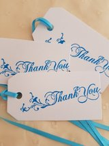Thank You  Gift Tags Handmade 12 Available in Ramstein, Germany