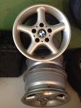BMW Aluminum Wheels 15 Inch in Baumholder, GE