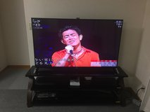 Sony Bravia 65 Inch and stand in Okinawa, Japan