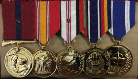 Medals Professionally Mounted for Le$$ in 29 Palms, California