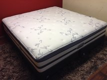 New! King Size Mattres (Simmons Beautyrest Recharge Keaton Plush) in Kingwood, Texas