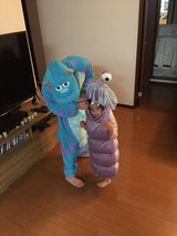 Disney Monsters Inc Boo Costume, size 2-4T in Okinawa, Japan