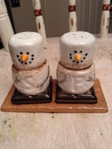 Marshmallow Snowmen S'Mores Salt and Pepper Shakers *Never Used* in Fort Leonard Wood, Missouri