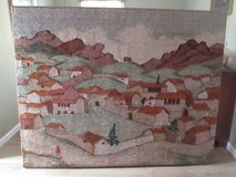 "LG. HANDMADE PERUVIAN TAPESTRY EXQUISTE !! 74"" X 49"" in Kingwood, Texas"