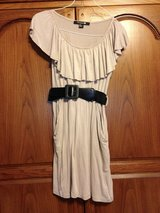 Tan Dress w/belt by Forever 21 - s/p in Bolingbrook, Illinois