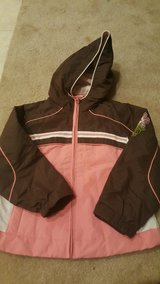 Girls size 5T water/wind resistant jacket in Lake Elsinore, California