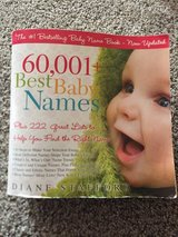 Baby Names Book in Travis AFB, California